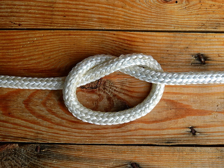 bucle, corda, fusta, connectat, Govern Federal, connexió, nus