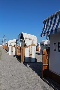 scaun de plaja, vacanta, plajă, cluburi, nisip, mare, vara