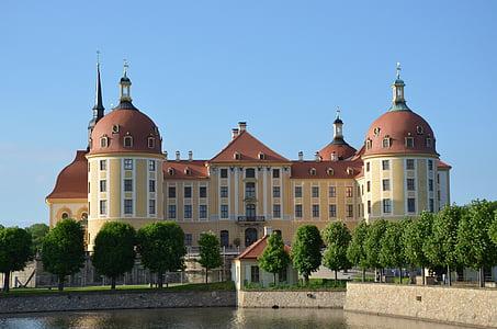 moritz castle, castle, fairy tales, saxony, germany, architecture, castle park