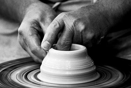 Potter, sunet, hub-ul, mâinile, arta, ambarcaţiuni