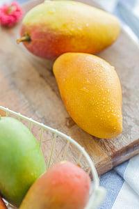 Mango, Kiesit mans, Hainan, Sanya, toidu ja joogiga, puu, tervisliku toitumise
