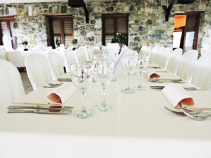 formal wear, banquet, marriage, preparation, lucca, estate saint peter, table