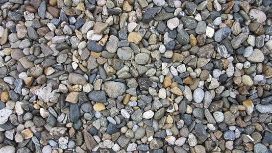 pedres, colors, molts, còdols, color, patró, fons