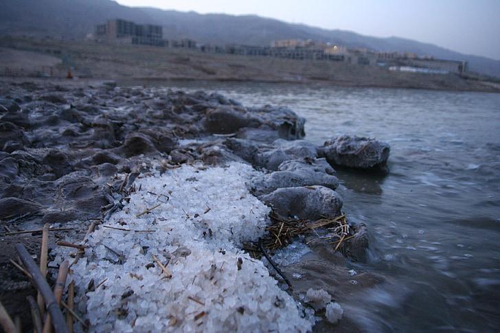 Mrtvo morje, sol, mineralna, Jordanija, Izrael, Spa, naravne