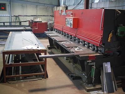 cutting, shearing, machine, processing