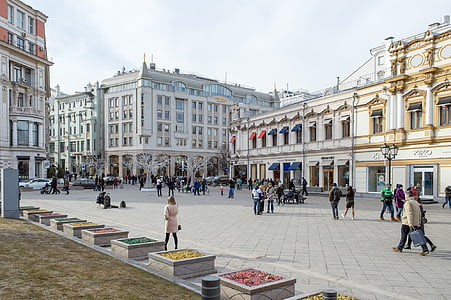 street the kuznetsk bridge, moscow, city, city centre, old town, russia, architecture