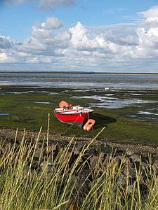 Краеведческий музей Амрума, отливы, мне?, Уоттс, Северное море, Ваттовое море, загрузки