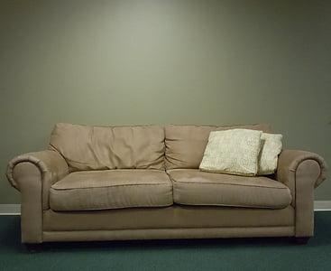 sofà, Benvingut, sala d'estar, relaxar-se, seient