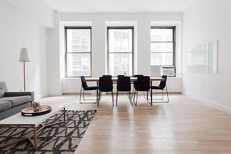 chairs, floor, furniture, indoors, interior design, lamp, parquet