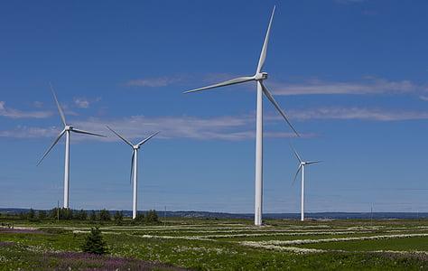 wind, wind energy, new energies, energy, electric energy, sky, pylon