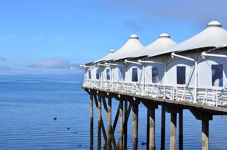 Vaikse ookeani, sinine, Dock, Puerto