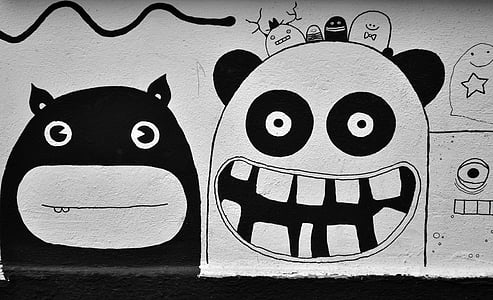 Street art, graffiti, Berlin, Art