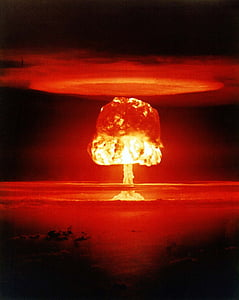 atomic bomb, mushroom cloud, explosion, weapons of mass destruction, destruction, mass destruction, weapon
