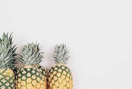 buah, emas, minimal, minimalis, minimalis, nanas, nanas