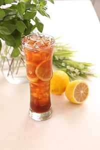 柠檬茶, 柠檬, 冷饮, 饮料, 饮料, 柑橘类水果, 鸡尾酒
