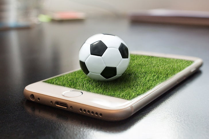 iphone, apple, football, soccer, sport, soccer Ball, equipment