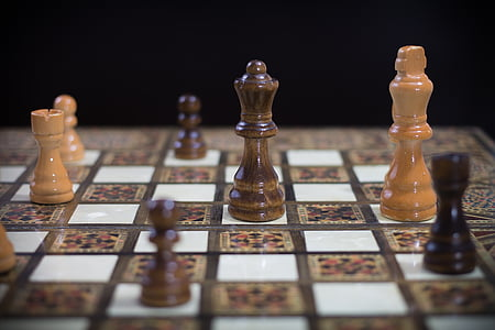 board game, challenge, chess, chess board, game, pawn, strategic