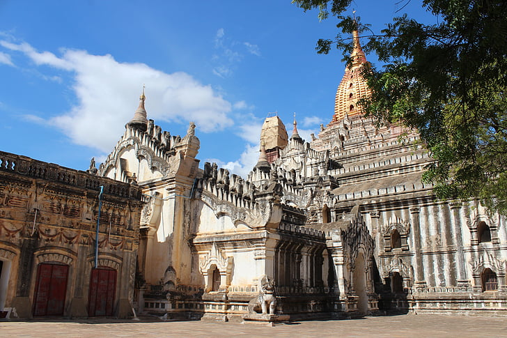 Mjanmarsko, Barma, chrám, budhizmus