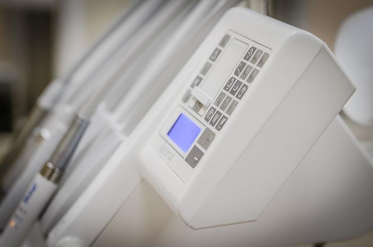 tandlæge, udstyr, boremaskine, smerter, borować, sundhedsvæsen og medicin