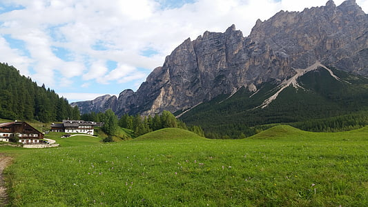 mountains, dolomites, italy, hiking, south tyrol, landscape, summer