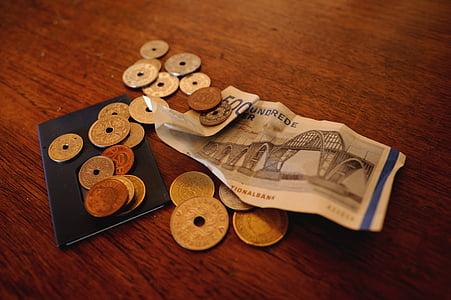 money, danish kroner, danish ears, banking business, savings, debt, loan
