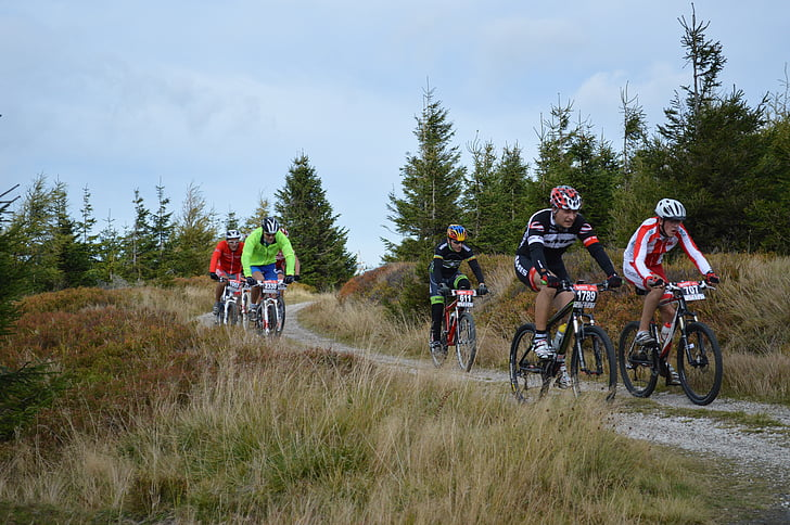 горные велосипеды, на велосипеде, Jizera горных велосипедах
