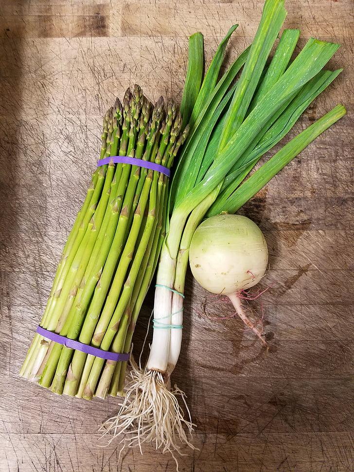 春野菜, 有機, 鮮度