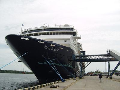 круїзне судно, круїз, мій корабель, подорожі, корабель подорожі, корабель, Балтійське море