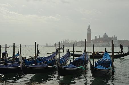 Італія, Венеція, піввагонів, gondolier, води, Лагуна, човен