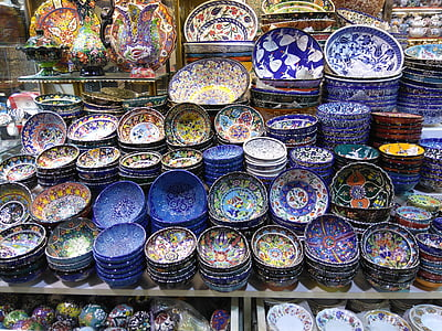 Istanbul, Gran Basar, turc, mercat, tradicional, cultura, oriental