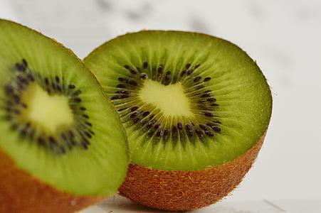 quivi, frutas, saudável, vitaminas, comida, verde, delicioso