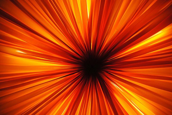 gaisma, apgaismojums, lukturis, šķiet, ka, spīdēt cauri, silts, oranža