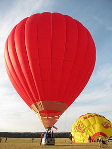 luftballong, Sky, färgglada, flyg, äventyr, Festival, dom