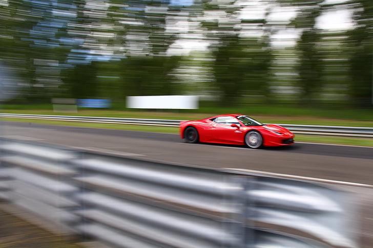 cotxe de carreres, l'automòbil, cursa, velocitat
