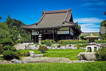 αρχιτεκτονική, Ασία, κτίριο, Πολιτισμός, ekō σπίτι, Κήπος, χλόη