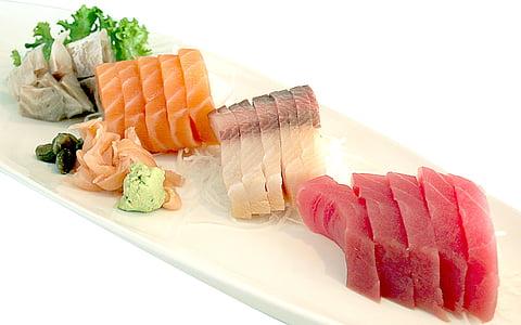 cá ngừ, cá hồi, Nhật bản, Hải sản, cá, tôi à?, khỏe mạnh