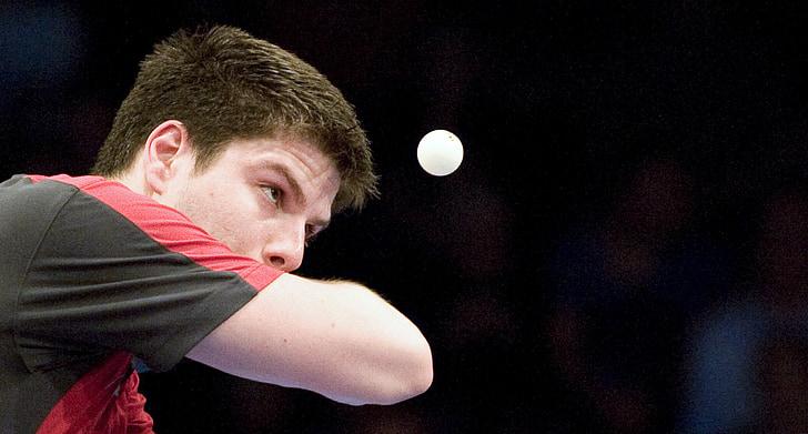 tennis de taula, ping-pong, passió, esport, homes, esport competitiu, jugant