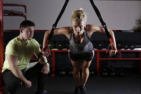 Sports, fitnesa, apmācības, sportisks, kustība, Vingrošana, graciozs