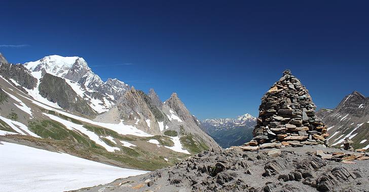 Mont blanc, Tour mont blanc, Alpit, maahanmuutto, Vaellus, Mountain, maisema