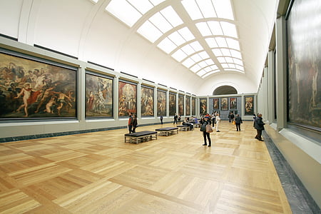 Art, näitus, Galerii, muuseum, maalid, inimesed, Avalikud pildid