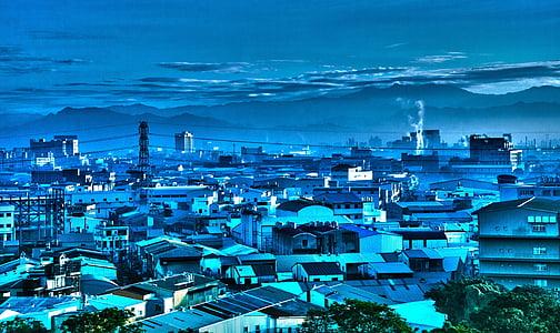 ráno, scenérie, Taiwan
