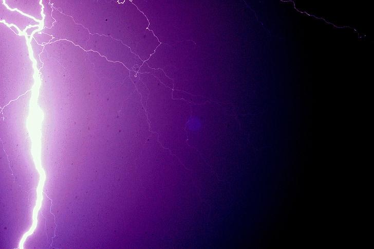 мълния, природата, буря, гръм, светлина, енергия, светкавица