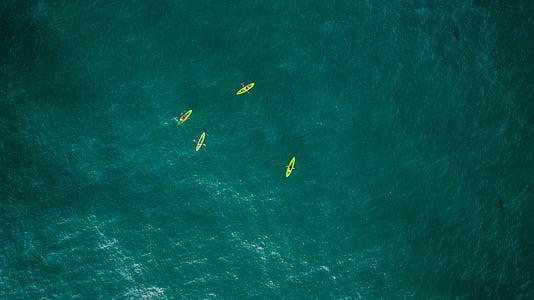 sjøen, hav, blå, vann, natur, båt, seiling