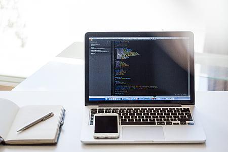 obrnil, MacBook, Pro, Java, kodiranje, prenosni računalnik, računalnik