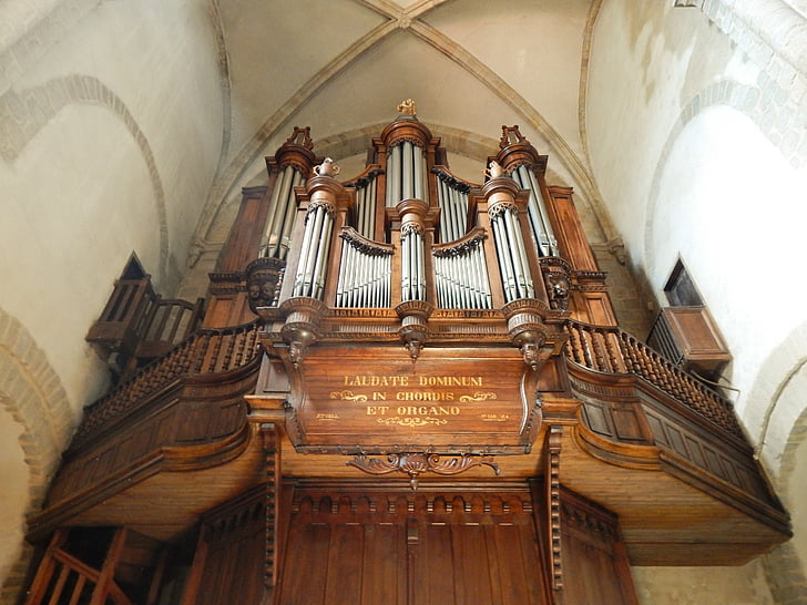 l'església, òrgan, xiulet de l'òrgan, òrgan de l'església, instrument, xiulet, instrument de teclat