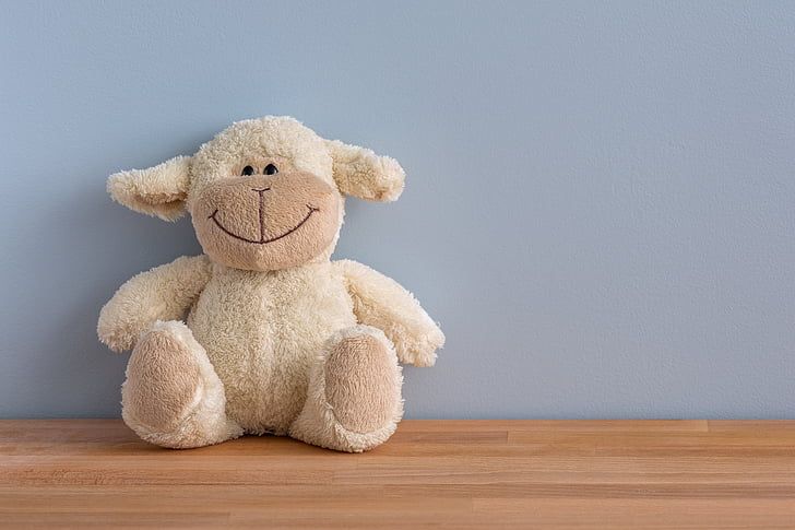 cuddly toy, happy, smile, smiling, toy