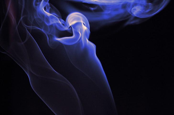 smoke, purple, background, black, backdrop