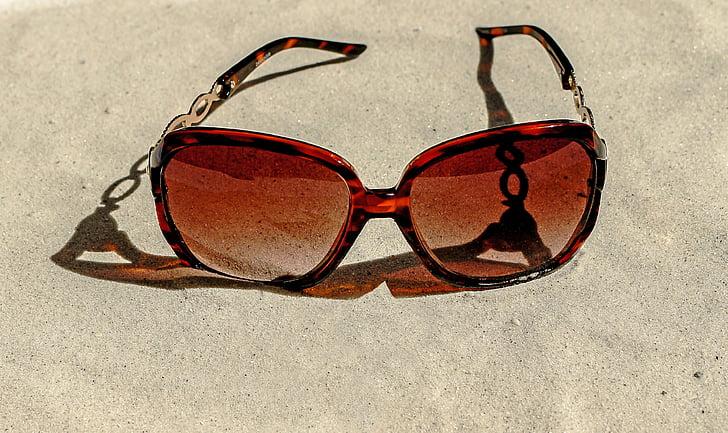 muoti, aurinkolasit, aurinkolasit, Sun, Beach