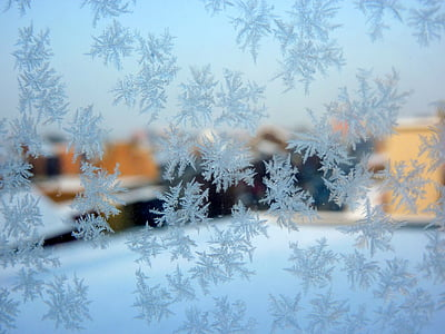 frost, winter, ice crystals, cold, gel, snow, christmas