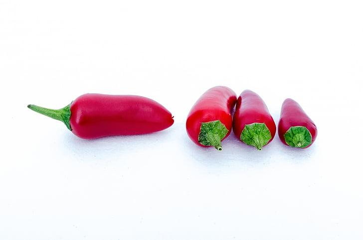 čili, chilies, tuvplāns, ēdiena gatavošanai, pārtika, siltuma, karstā